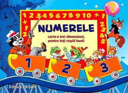 Numerele (Tridimensionale educative)