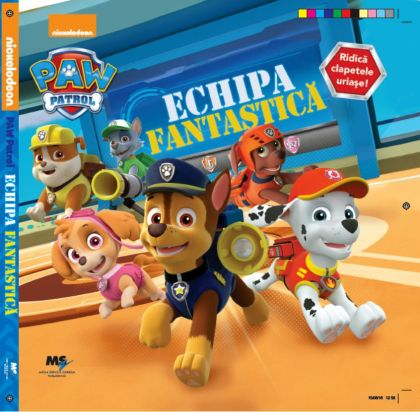 Paw Patrol - Carte educationala 1, 2, 3