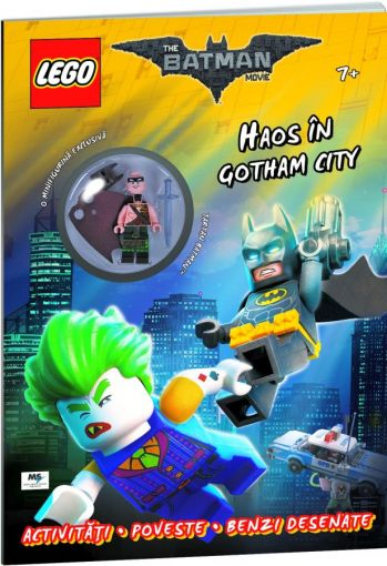 Carte LEGO Batman - Haos in Gotham City