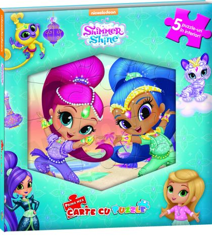 Prima mea carte cu Puzzle - Shimmer and Shine