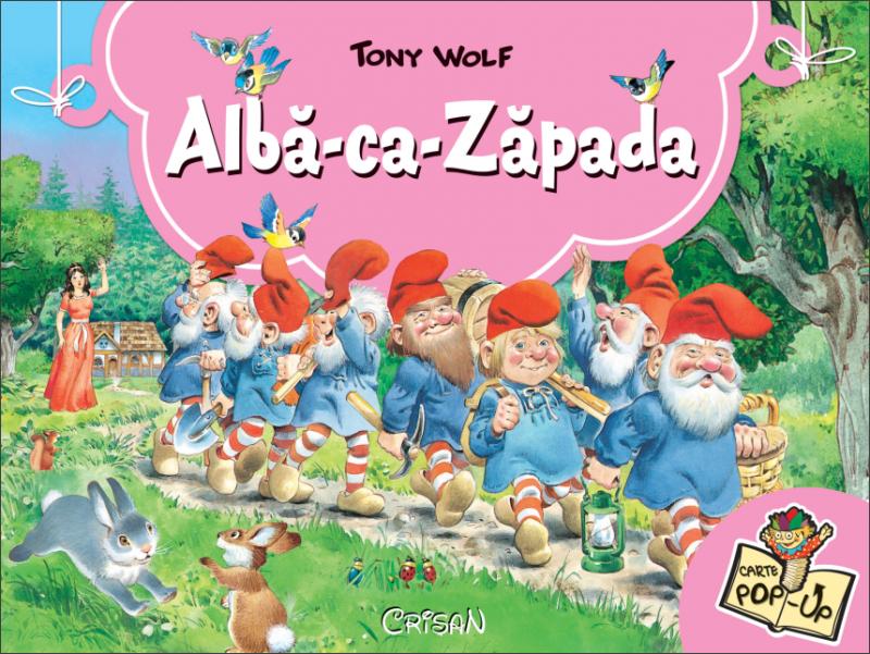 Albă Ca Zăpada Poveşti Clasice 3d Tony Wolf